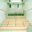 Convert A Court with a Movable Glass Wall